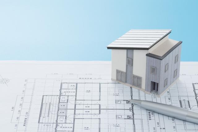 住宅設計図の画像