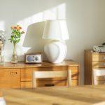 木材の家具の画像